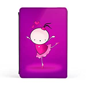 Dancer Purple Premium Faux PU Leather Case, Protective Hard Cover Flip Case for Apple? iPad Mini by Madotta + FREE Crystal Clear Screen Protector