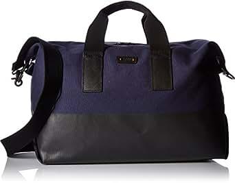 BOSS Orange Men's Lightime Holdall Weekender Bag, Navy