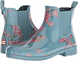Hunter Women's Refined Blossom Print Chelsea Boot Soft Pine Floral 7 M US