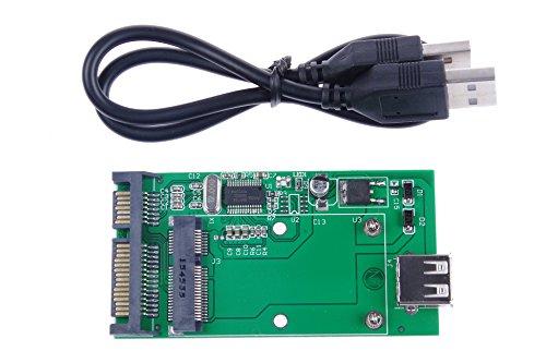 (KNACRO Mini PCIe mSATA SSD to 2.5