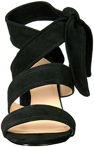 Ivanka Trump Women's Kiffie Heeled Sandal Black Suede pre order sale online best place to buy online best prices cheap price free shipping low cost x9vooYwm4Z
