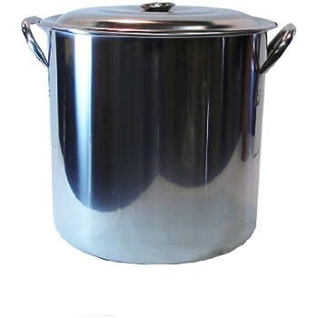 Amazon Com 32 Quart 8 Gallon Stainless Steel Stock Brew