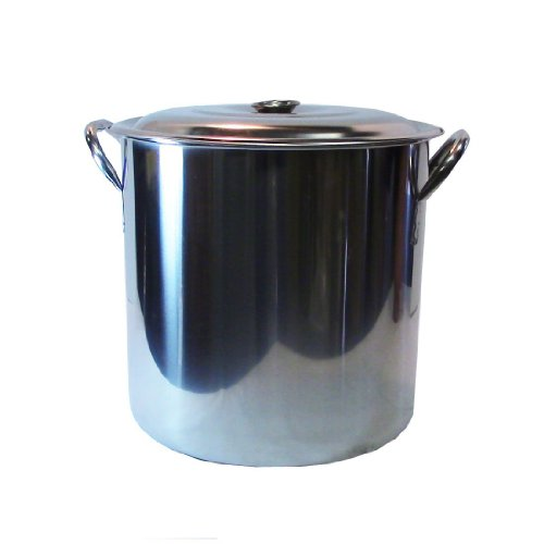 8 gallon stainless steel pot - 6