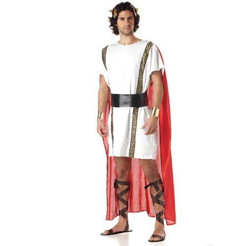 Make Roman Toga Costumes (California Costumes Mens Mark Anthony Costume Small/Medium)