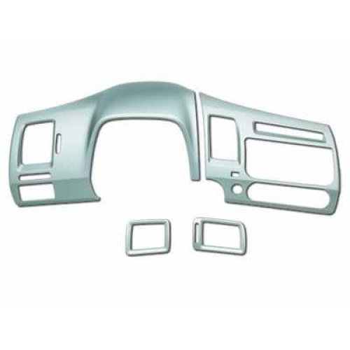 Honda Genuine Accessories 08Z03-SNA-100 Metal Look Interior Gauge Trim