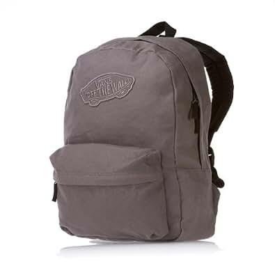 Amazon.com: Vans Realm Pewter Grey Backpack Rucksack: Shoes
