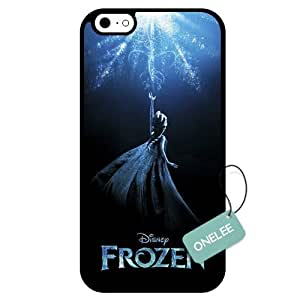 Onelee(TM) - Disney Frozen iPhone 6 Case & Cover - iPhone 6 Case (TPU) - Black 8 wangjiang maoyi by lolosakes