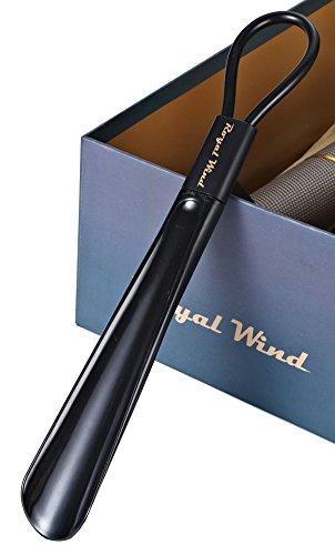 Royal Wind Short Shoe Horns Removedor De Plástico Discapacidad Mobility Aid Flexible Stick Black 1