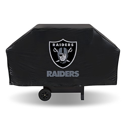 NFL Oakland Raiders Vinyl Grill Cover from Rico Industries