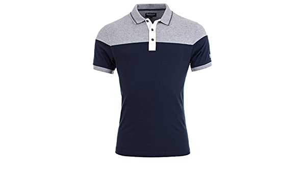 Barbour International - Polo - para Hombre Navy Ny91 XX-Large ...