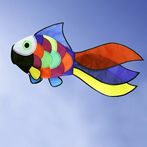 Rainbow Fish Windsock Festival Outdoor Garden Backyard Beautiful And Cute Designed With Fashion Pattern, It Is (Wine God Costume)