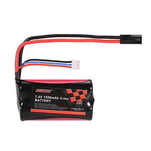 JIMI 7.4V 1500mAh 20C Li-ion Battery for BG1506 BG1507 BG1513 RC - Li Poly Battery 7.4v