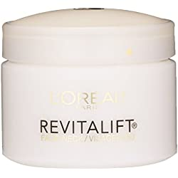 L'Oreal Paris Skin Care Revitalift Anti-Wrinkle, Firming Face and Neck Contour Cream Bonus Pack, 2.55 Ounce