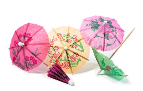 Price comparison product image Perfect Stix Parasol pick 288ct Tropical Drink Umbrella Picks (Pack of 288)