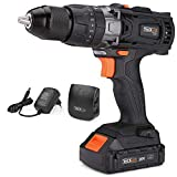 20V MAX 1/2″ Cordless Drill Driver Set with Hammer Function, 2-Speed Max Torque 310 In-lbs, 16+3 Position with LED, 2.0Ah Lithium-Ion Battery, PCD04C For Sale