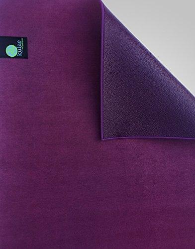 Kulae KU4HYMSE The Elite Hot Hybrid Yoga Mat (Purple, 4mm, 4mm) For Sale