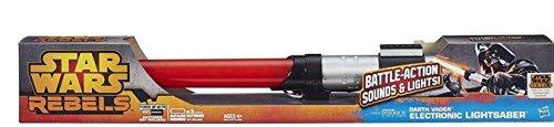 Star Wars Darth Vader Electronic Lightsaber Toy (Star Wars Rebels Lightsaber Toy)
