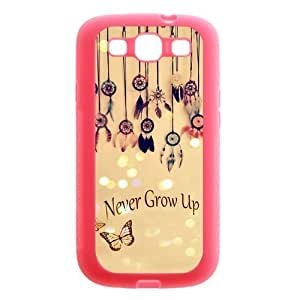 Beautiful Dream Catchers Pink Rubber Cover Case for SamSung Galaxy S3