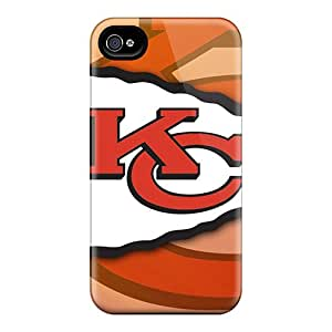 Anti-Scratch Hard Phone Cases For Iphone 6 With Support Your Personal Customized HD Kansas City Chiefs Image MansourMurray