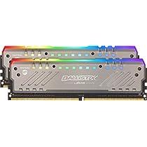Crucial Ballistix Tactical Tracer BLT2K8G4D32AET4K RGB, 3200 MHz, DDR4, DRAM, Memoria Gamer Kit para ordenadores de sobremesa, 16GB (8GBx2), CL16