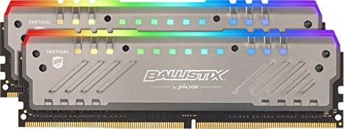 Crucial Ballistix Tactical Tracer BLT2K8G4D32AET4K RGB, 3200 MHz, DDR4, DRAM, Memoria Gamer Kit para ordenadores de...