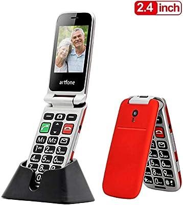 Artfone Teléfono Móvil para Personas Mayores Teclas Grandes para ...