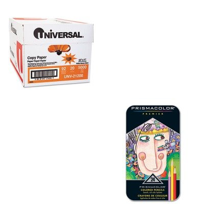 KITSAN3597TUNV21200 - Value Kit - Prismacolor Premier Colored Woodcase Pencils (SAN3597T) and Universal Copy Paper (UNV21200)