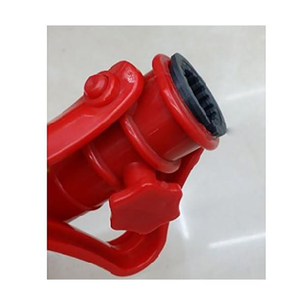LOVIVER Supporto Ombrellone Holder 39 * 3.5cm per Spiaggia Mare Campeg Giardino - Rosso 5 spesavip