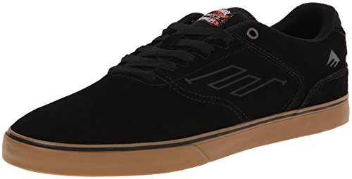 Emerica Men's The Reynolds Low Vulcxthrasher Skateboard Shoe, Black/Gum, 10.5 M US - Reynolds Skateboard Shoe