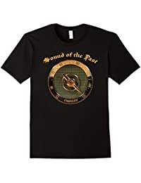 Sound of the Past Antique Radio Dial Cros T-Shirt