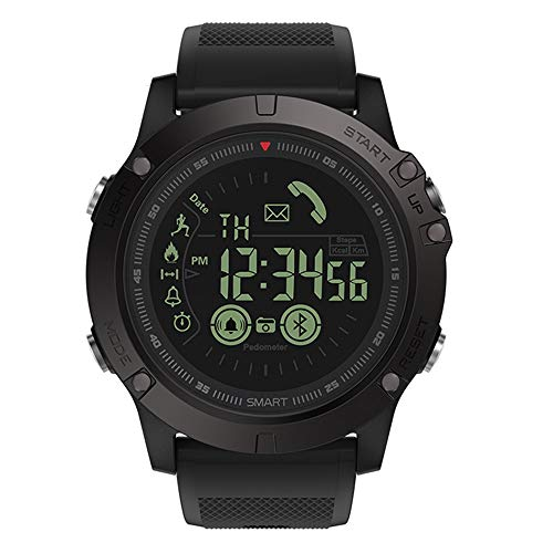 Price comparison product image Lovewe Zeblaze VIBE 3 Smart Sport Watch Waterproof Alarm Mate Camera For IOS / Android For Women Men (Black)