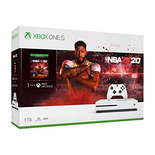 Xbox One S 1TB Console – NBA 2K20 Bundle