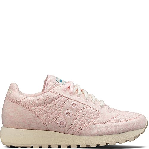 Saucony Originals Women's Jazz Original CL Cozy Sneaker, Pink, 9 Medium US