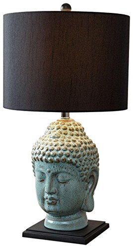 Abbyson living buddha table lamp antique