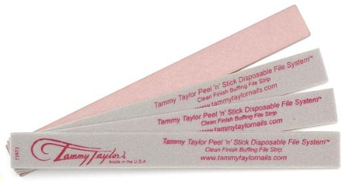 Tammy Taylor Peel n' Stick Clean Finish Buffing File Strip - (Pack of 25)