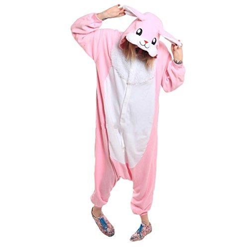 Pigiama Unisex Pigiamas Casa Kigurumi Animale S xl Cosplay Onesie Anime Coniglio Adulto Costume Cartone Halloween q1qgxRdt