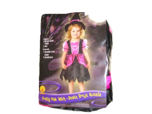 Prett (Witch Pretty Pink Toddler Costumes)