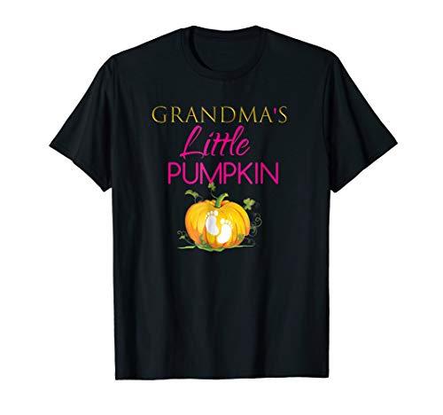 Grandmas Little Pumpkin - Grandma's Little Pumpkin Baby Shower Shirt Outfit