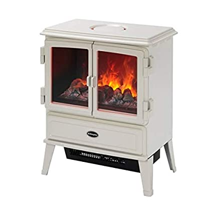 Phenomenal Dimplex Auberry Aub20 Optimyst 2Kw Electric Stove Heater With Remote Control Home Interior And Landscaping Mentranervesignezvosmurscom
