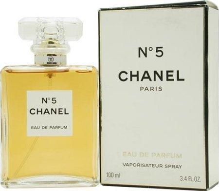 C H a N E L No.5 Eau De Parfum Spray 3.4 Oz.  by Siamhotdeal