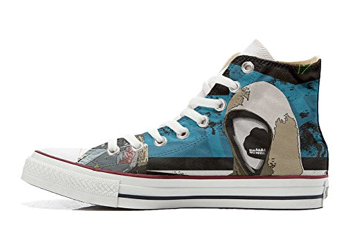 Graffiti personalisierte All Customized Star Handwerk Converse Hi Schuhe Schuhe Straße wf8Idq