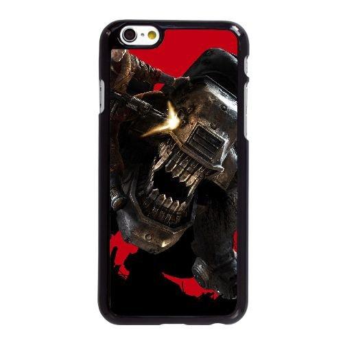 S0X35 Wolfenstein le nouvel ordre V9Q5RG coque iPhone 6 Plus de 5,5 pouces cas de couverture de téléphone portable coque noire KV0BSL1MB