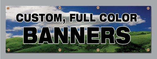 Amazoncom X Custom Full Color Vinyl Banner Vinyl Signs By - Vinyl banners and signs
