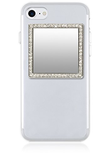 iDecoz Phone Mirror. Sticks to the back of all Phones & Cases. The Replacement to the traditional compact mirror. Its the Best Way To Check Yourself Out On-The-Go!