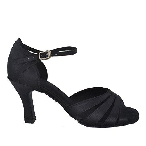 Damen Tanzschuhe Schwarz schwarz Misu HEN0QtL5W