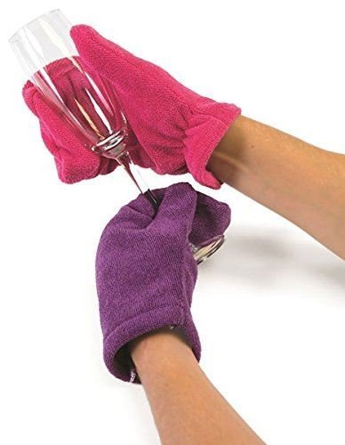 Zeal Clean Touch Microfiber Mitts, Random Colour, Pack of 2