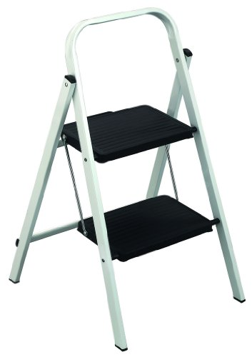 Louisville Ladder L-4362-02 Qwik Step Stool, 2 Feet, 200 Pound Duty Rating