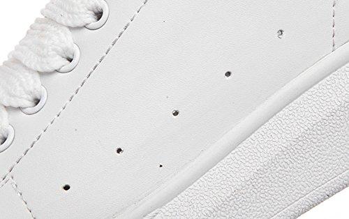 Wealsex sneaker damen weißen schuhe