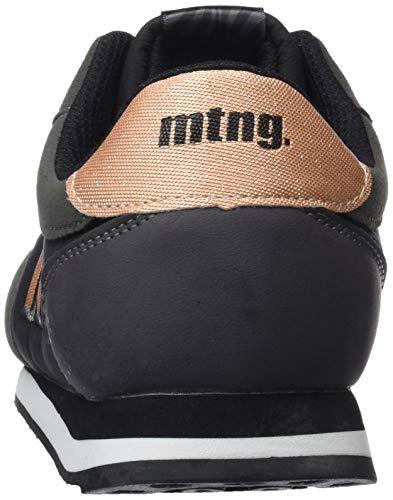 Basses Gris raspe 56406 Femme Medi Mtng Sneakers Negro Naranja Nylon Oscuro C42955 Ex1qp1gXnw