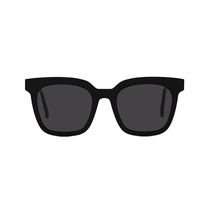 5ba8c8c6705 Gentle Monster Sunglasses Finn Col.01 Black Lens Black Frame Genuine   Amazon.ca  Clothing   Accessories